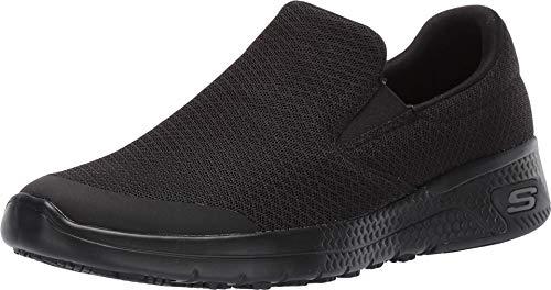 Skechers womens Marsing Health Care Professional Shoe, Black, 6 US