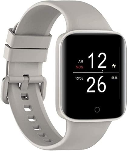 Rastreador de fitness 1 3 pulgadas pantalla a color Bluetooth llamada información inteligente recordatorio multi-dial sueño multifunción pulsera deportiva blanco