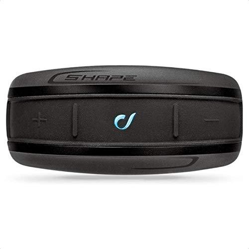 Cellular Line interphoshape Auricolare Bluetooth da Casco per Comunicazione in Moto, Nero, 1