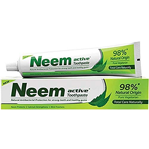Neem Active Toothpaste (Natural Protection for Strong Teeth & Healthy Gums) by Henkel