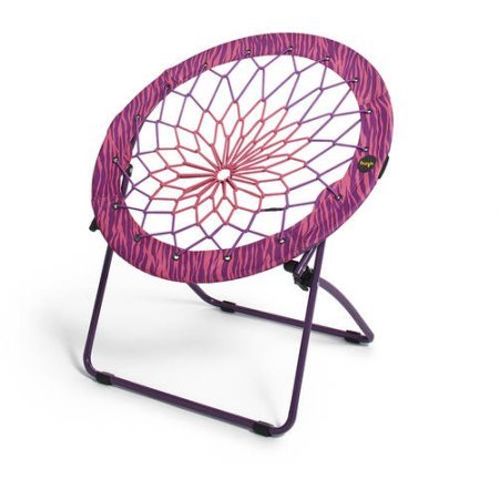 Bunjo Bungee Chair Pink/Purple Zebra Print