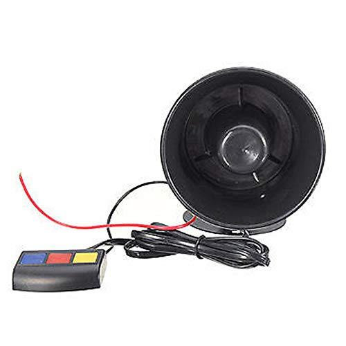 Find Bargain The 12V Sound Alarm Horn Tone Warning Alarm Amplifier Speaker with 3 Kind of Sound