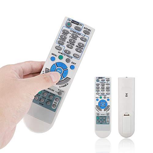 ASHATA Control Remoto de proyector NEC, Control Remoto de proyector Universal de Larga Distancia Multifuncional para NEC RD-448E/NP-VE280/NP-VE281/NP-V260