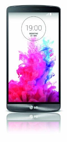 LG G3 Smartphone (5,5 Zoll (14 cm) Touch-Bildschirm, 32 GB Speicher, Android 4.4) titanschwarz