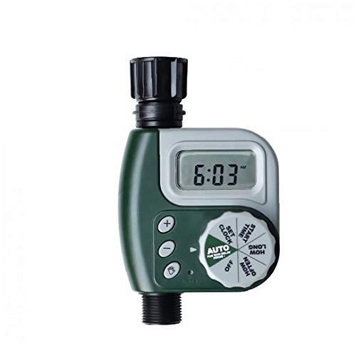 IUwnHceE Los Productos Temporizador de riego Solo Manguera de Salida Digital al Aire Libre Jardín Controlador del Sistema de riego del hogar para Uso Interior y Exterior