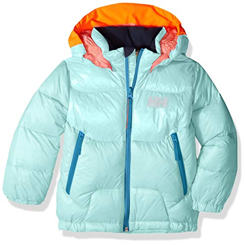 Helly Hansen K Frost Down Jacket, Giacca Bimbo 0-24, Blu (501 Blue Tint), 1 año