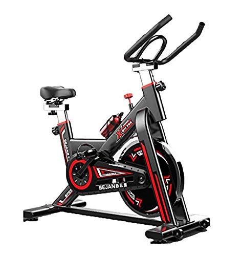 Acobonline Bicicleta Estatica Spinning Bici Spinning Bicicleta Profesional para Uso domestico con Monitor Calidad Profesional (Negro)