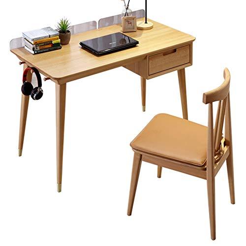 Schreibtisch Computer Stehpult Mit Schubladen Tisch- Und Stuhlset Buchenholz Fügen Sie Dem Desktop Eine Acrylblende Hinzu Tischregal