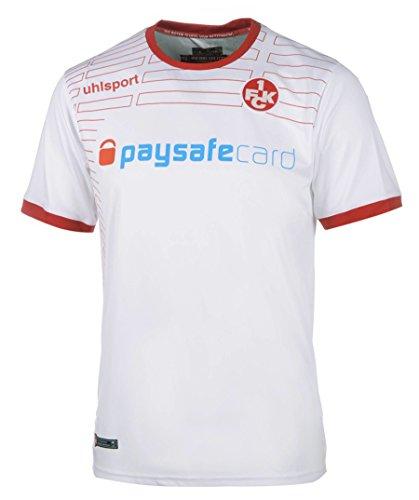 uhlsport Bekleidung Teamsport FCK Auswärtstrikot Match KA 14/15, Weiß/Chilirot, M