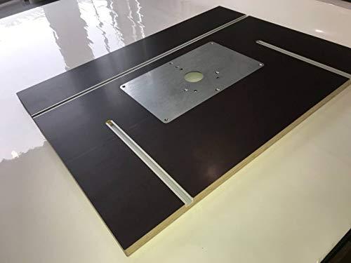 Tuneon Frästischplatte Frästisch für Bosch POF 1400 ACE 1200 AE Oberfräse Siebdruck
