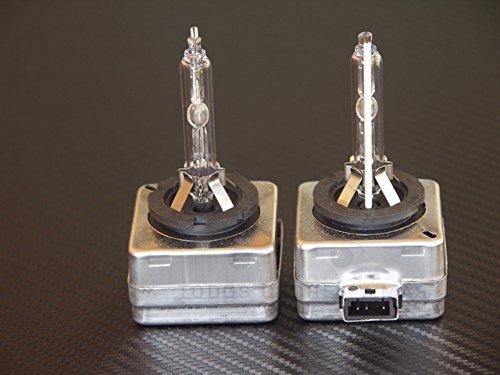 Unipower TMT Leds(TM) Lot de 2 ampoules de rechange HID Xenon D1S 35 W 6 000 K Blanc