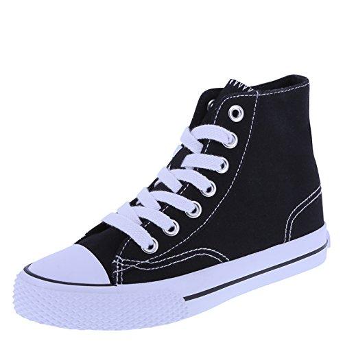 Airwalk Kids' Black White Kids' Legacee Sneaker High-Top 13 Regular