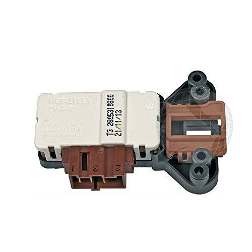 Cerradura eléctrica para lavadora (ORIGINAL Beko) código de bloqueo de puerta: 2805310800/2805311700/ 2805311600 (ZV-446 T3)