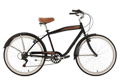 KS Cycling Beachcruiser 26\'\' Vintage schwarz RH46cm