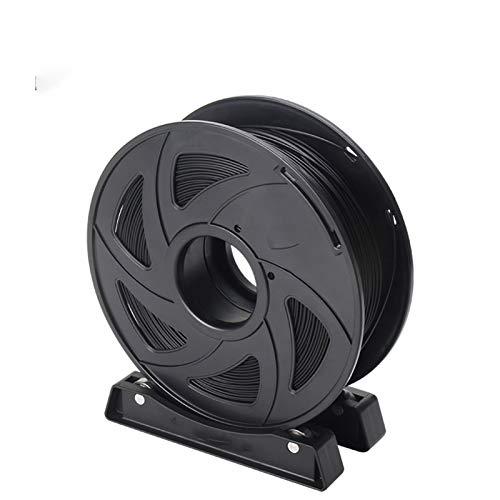 FCKJ Repuestos Soporte de filamento ABS Impresora 3D Material Estante Impresora 3D Pieza Filamento Spool Holder Material Estantes Accesorios de Impresora (Color : Black)