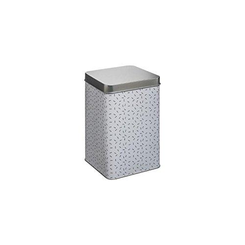 Boîte en métal Contempo Lift - 10 x 16 cm - Blanc