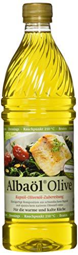 ALBAÖL OLIVE - Rapsöl-Olivenöl-Zubereitung der Profiköche 750ml, 3er Pack (3 x 750ml)