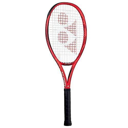 Yonex New Vcore 100 300G unbesaitet 300g Tennisschläger Turnierschläger Rot - Dunkelrot 3