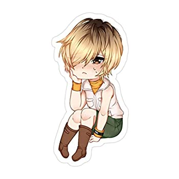 Sneaky Cover  3 PCs/Pack  Silent Hill 3 Heather Chibi 3x4 Inch Die-Cut Stickers Decals for Laptop Window Car Bumper Helmet Water Bottle