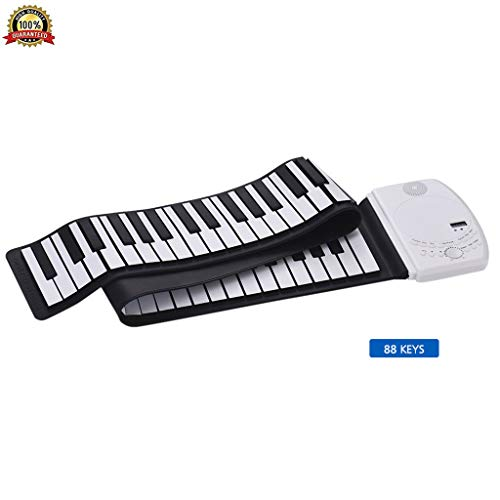 Review Of Portable Piano Keyboard, Vdaye 49/61/ 88 Keys Roll Up Educational Electronic Digital Music...