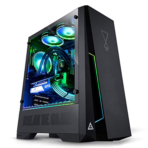 OPSYS Agilian-X1 RGB Gaming PC (Intel Core i5-11500 Six Core, ASUS Geforce RTX 3060 Ti 8GB Graphics Card, 256GB NVMe SSD, 1TB HDD, 8GB 2933MHz RAM, AIO Liquid Cooler, WiFi, No OS)