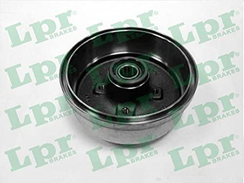 2x LPR Bremstrommel für OPEL CORSA C F08, F68