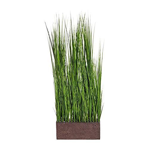 Pflanzen Kölle Raumteiler mit Kunstgras im Kunststoffkasten ca. 85 cm