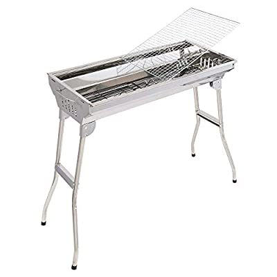 Portable Stainless Steel Grill (Standard Config...