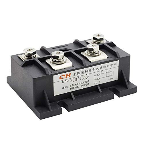 Módulo completo de diodo de onda de rectificador de puente MDQ-200A 200A 1600V monofásico