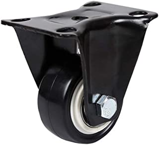 WSWJ Heavy-duty wielen met remstuurwagens (kleur: A-vaste wielen)