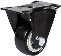 WSWJ Heavy-duty zwenkwielen Steering Wheel Karren (Color : A-Fixed casters)