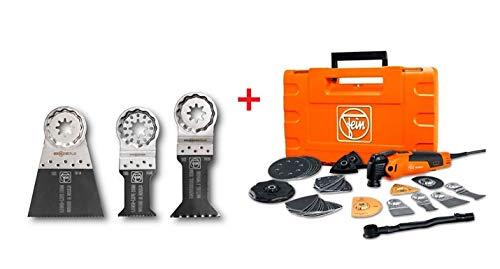 MultiMaster fein 350QSL Multitool FMM 350 QSL Multifunktionswerkzeug + Extra Zubehör
