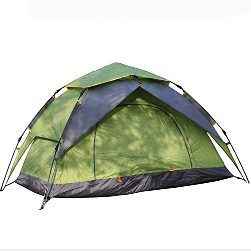 N \ A Tents, Camping Tent ,2Person Family Tent Double Layer Outdoor Tent Waterproof Windproof Anti-UV Automatic tent,Suitable for camping, hiking, fishing and other outdoor,3 Color Option.
