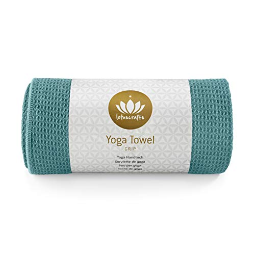 Lotuscrafts Hot Yoga Towel Grip - Non-slip & Fast-drying - Non Slip...
