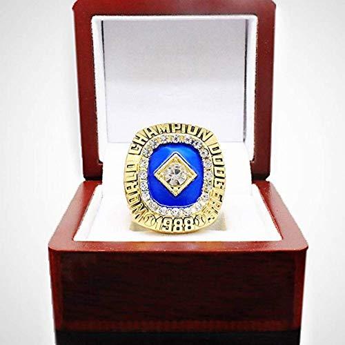 ZJL Sport Fans Ring Collectie meester Rings fans High-end Collection Fans Alloy Ringen herenaccessoires Vintage Accessoires, Goud, 11 goud
