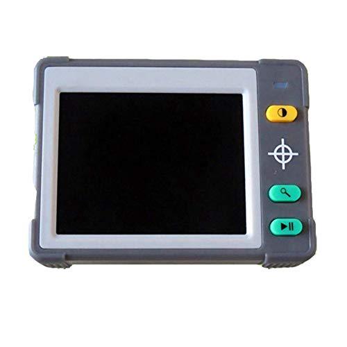 JL Tragbare Digitale Lupe 3.5-Zoll-Elektronische Lesehilfe für Sehbehinderte, Schreiben, Karten Ansehen, Bücher - Austauschbarer Akku