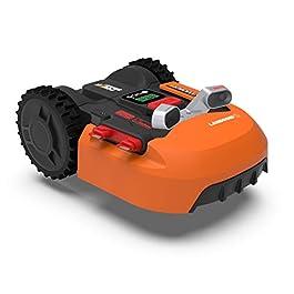 WORX WR900E Landroid Tondeuse Robot, Orange, BIS zu 500m2 + Kollisionssensor ACS
