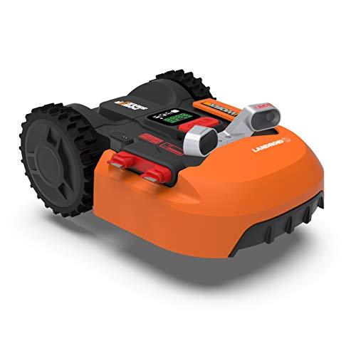 WORX WR900E Robot cortacésped, Naranja, bis zu 500m2 + Koll