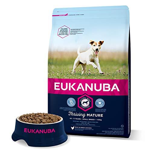 Eukanuba Croquette pour Chien Senior Petite 3 kg