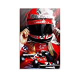 HJSF Niki Lauda L Formula 1 Wall Poster Large Poster