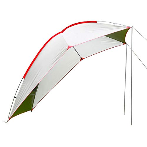 AMYAL Camping Tent Camping Tarp Shelter Lightweight Hammock Rain Fly Waterproof Compact for Fishing Beach Picnic (Color : D)