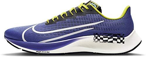 Nike Air Zoom Pegasus 37 AS A.I.R. Chaz Bear Scarpe Da Corsa Formatori, (Rush Violet Sail Nero), 42 EU