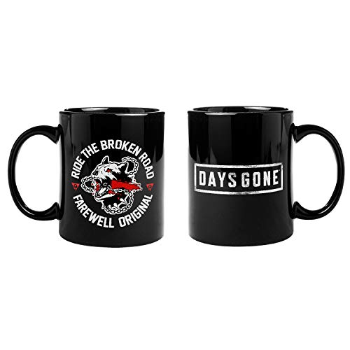 Gaya Entertainment D24ABF9FC2 Days Gone Standard Mug Broken Road Black