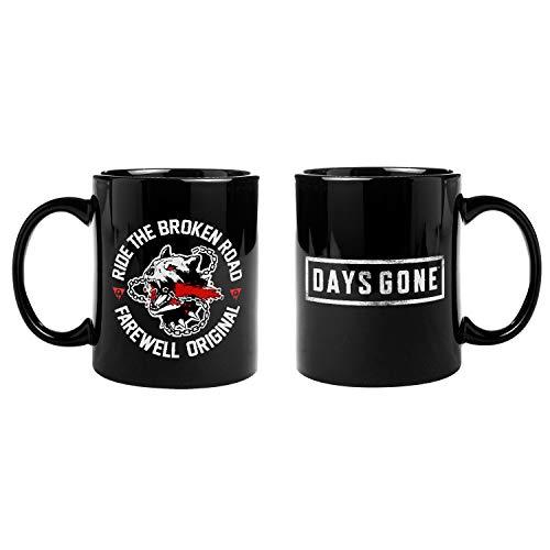 Gaya Entertainment D24ABF9FC2 Days Gone Standard Mug 'Broken Road' Black