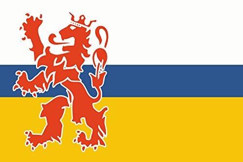 DIPLOMAT Flagge Limburg | Querformat Fahne | 0.06m² | 20x30cm für Flags Autofahnen