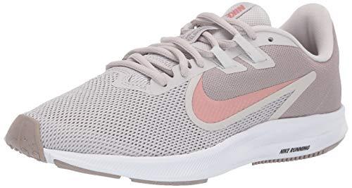 Nike Downshifter 9, Scarpe da Trail Running Donna, Grigio (Vapste Grey/Rust Pink/Pumice/White 8), 36 EU