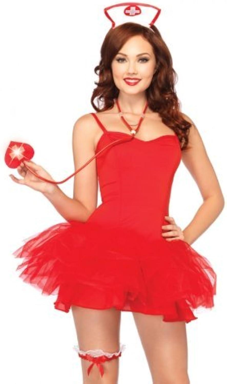 orden en línea Leg Avenue Naughty Naughty Naughty Nurse Kit (blanco  rojo) by Leg Avenue  disfruta ahorrando 30-50% de descuento