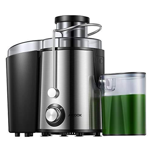 Licuadoras para Verduras y Frutas, Pies Antideslizantes, Fácil de Limpiar, Diseño Antigoteo, Libre de BPA,AICOOK 310