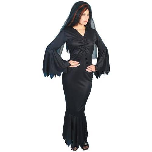 Smiffy's 21777M - Costume per travestimento da Vampiressa della Mezzanotte, Donna, M, Nero