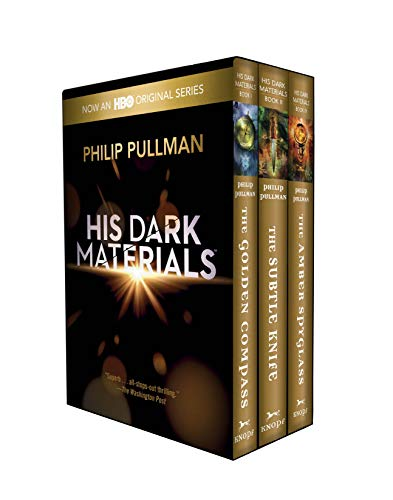 His Dark Materials Trade Paper Boxed Set (Golden Compass, Subtle Knife, Amber Spyglass)